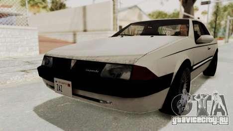 Imponte Bravura V6 Sport 1990 для GTA San Andreas вид справа