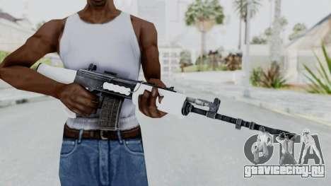 IOFB INSAS White для GTA San Andreas третий скриншот
