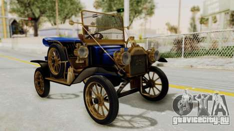 Ford T 1912 Open Roadster v2 для GTA San Andreas