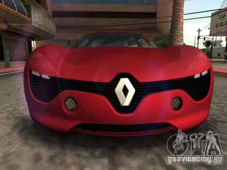 Renault Dezir Concept для GTA San Andreas вид справа