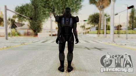 Mass Effect 2 Shepard Default N7 Armor No Helmet для GTA San Andreas третий скриншот