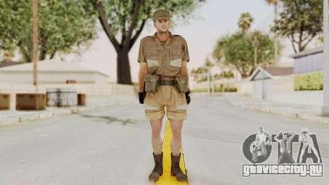 MGSV Phantom Pain CFA Soldier v2 для GTA San Andreas второй скриншот