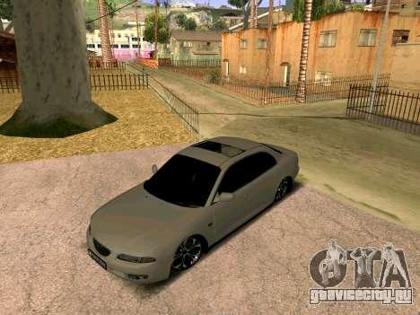 Mazda Xedos 6 для GTA San Andreas вид сзади слева