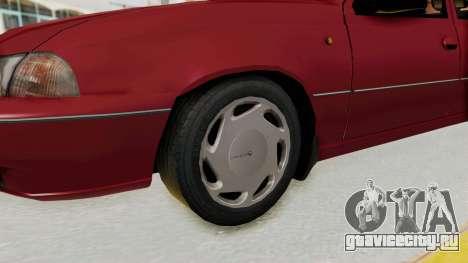Daewoo Cielo 1.5 GLS 1998 для GTA San Andreas вид сзади