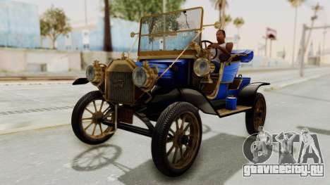 Ford T 1912 Open Roadster v2 для GTA San Andreas вид справа