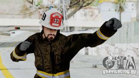 GTA 5 Fireman SF для GTA San Andreas