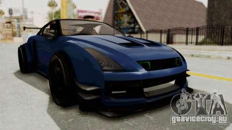 GTA 5 Annis Elegy Twinturbo Spec для GTA San Andreas вид справа