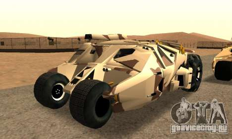 Army Tumbler Gun Tower from TDKR для GTA San Andreas