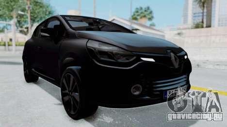 Renault Clio 4 IVF для GTA San Andreas вид справа