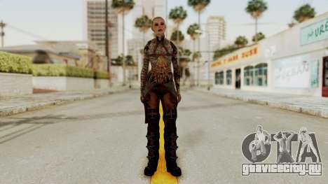 Mass Effect 2 Jack для GTA San Andreas второй скриншот