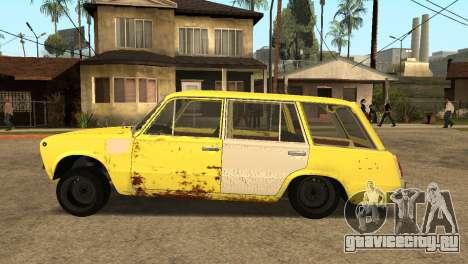 ВАЗ 2102 БК для GTA San Andreas вид слева