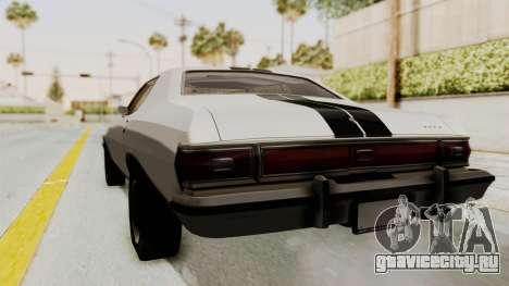 Ford Gran Torino 1975 для GTA San Andreas вид сзади слева