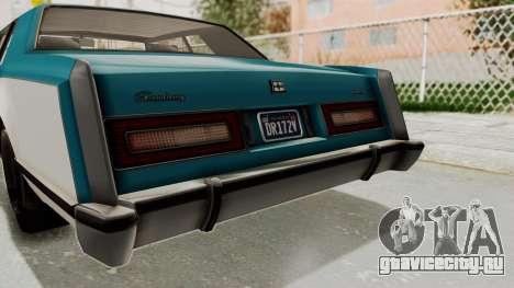 GTA 5 Dundreary Virgo Classic IVF для GTA San Andreas вид сбоку