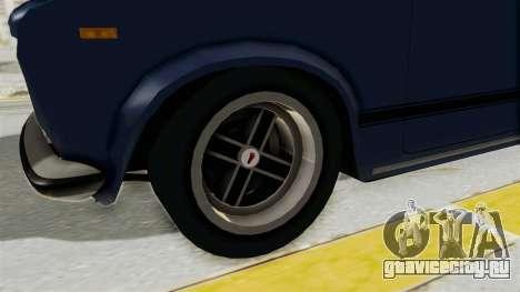 Seat 124 2000 для GTA San Andreas вид сзади