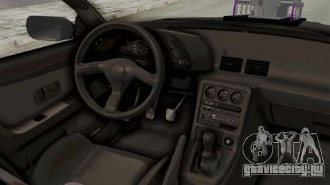 Nissan Skyline R32 4 Door Monster Truck для GTA San Andreas вид изнутри