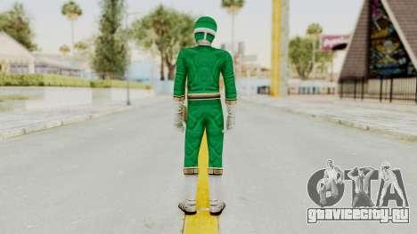 Power Rangers Lightspeed Rescue - Green для GTA San Andreas третий скриншот