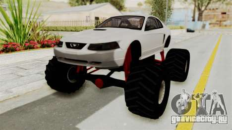 Ford Mustang 1999 Monster Truck для GTA San Andreas