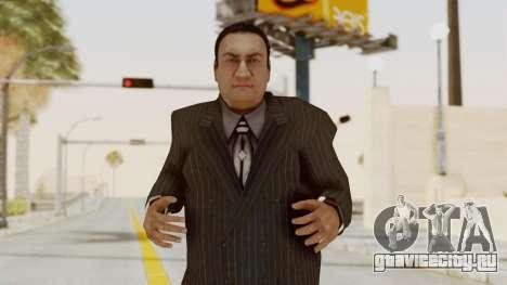 Taher Shah Black Suit для GTA San Andreas