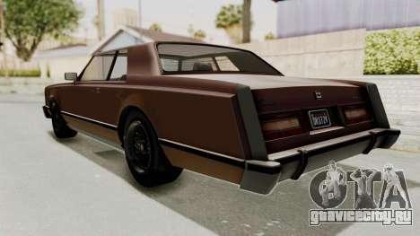 GTA 5 Dundreary Virgo Classic для GTA San Andreas вид слева