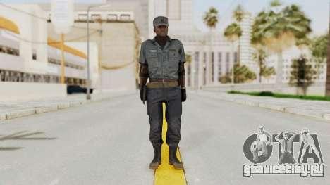 MGSV Phantom Pain Zero Risk Security Combat v1 для GTA San Andreas второй скриншот