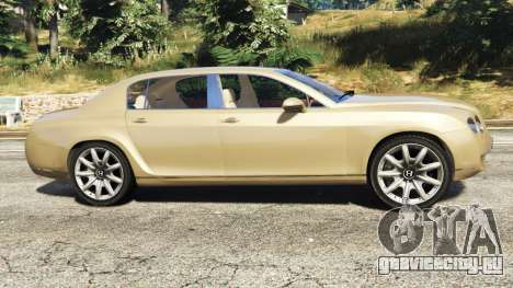 Bentley Continental Flying Spur 2010 для GTA 5 вид слева