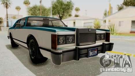GTA 5 Dundreary Virgo Classic IVF для GTA San Andreas вид сзади слева
