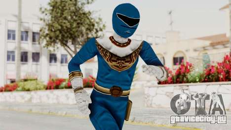 Power Ranger Zeo - Blue для GTA San Andreas