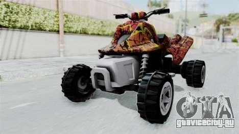 Sand Stinger from Hot Wheels v2 для GTA San Andreas вид справа