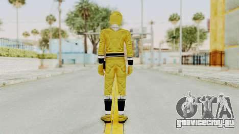 Alien Rangers - Yellow для GTA San Andreas третий скриншот