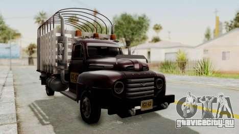 Ford 49 Con Estacas для GTA San Andreas вид справа