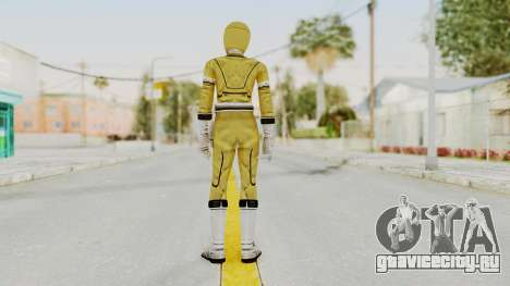 Power Rangers Turbo - Yellow для GTA San Andreas третий скриншот