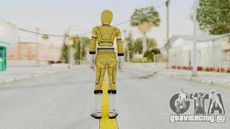 Power Rangers Turbo - Yellow для GTA San Andreas третий скриншот
