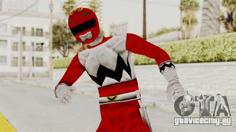 Power Rangers Lost Galaxy - Red для GTA San Andreas
