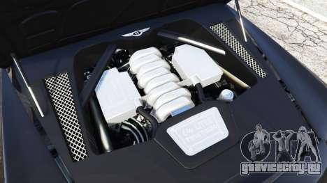 Bentley Mulsanne 2010 для GTA 5 вид спереди справа