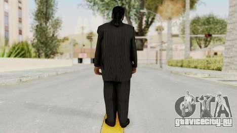 Taher Shah Black Suit для GTA San Andreas третий скриншот