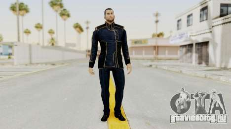 Mass Effect 3 Shepard Formal Alliance Uniform для GTA San Andreas второй скриншот