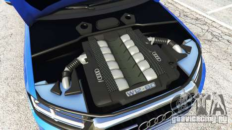 Audi Q7 2015 [rims1] для GTA 5 вид спереди справа