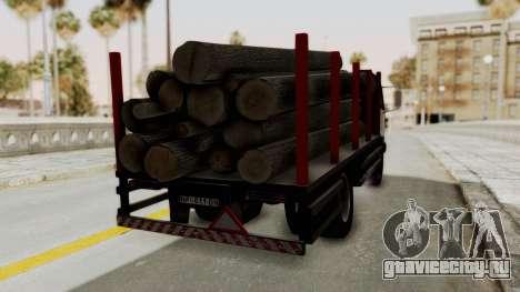 FAP Kamion za Prevoz Trupaca для GTA San Andreas вид слева