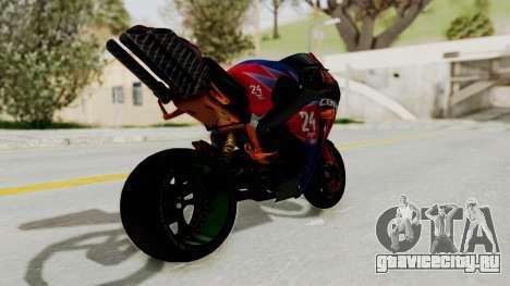Honda CBR1000RR Mini для GTA San Andreas вид слева