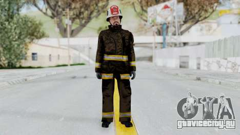 GTA 5 Fireman SF для GTA San Andreas второй скриншот