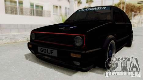 Volkswagen Golf 2 GTI для GTA San Andreas