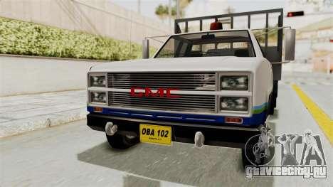 GMC Sierra 3500 для GTA San Andreas вид справа