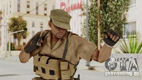 MGSV Phantom Pain CFA Combat Vest 1 v1 для GTA San Andreas