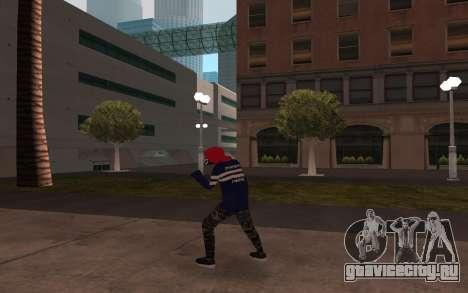 Новый бомж v3 для GTA San Andreas третий скриншот