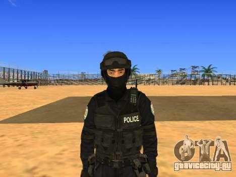 Skin SWAT HD для GTA San Andreas