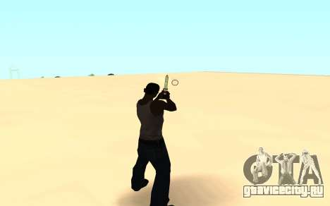 Desert eagle gradient для GTA San Andreas третий скриншот