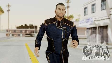 Mass Effect 3 Shepard Formal Alliance Uniform для GTA San Andreas