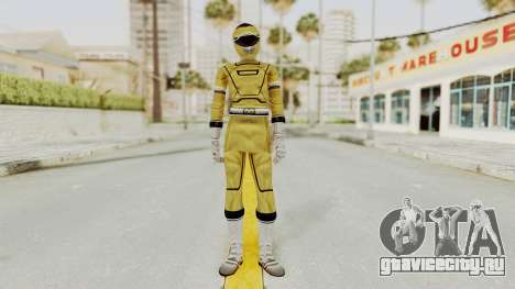 Power Rangers Turbo - Yellow для GTA San Andreas второй скриншот