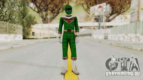 Power Ranger Zeo - Green для GTA San Andreas второй скриншот
