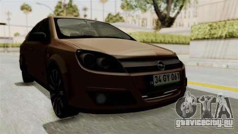 Opel Astra Sedan 2011 для GTA San Andreas вид справа